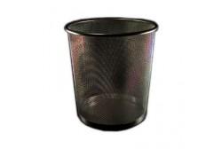 Prügikorv metallist 14 L, must