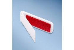 Cloth brush foldable, plastic