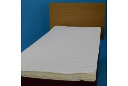Mattress pad with rubber bands 160*200 cm