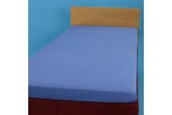 Voodilina kummiga 90*200 cm trikotaaž sinine