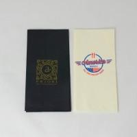 Pabersalvrätik logoga 33*33 cm, värviline, 3-kihiline, 1/8