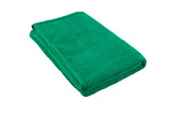 Green terry towel 75*150 cm