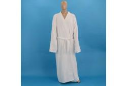 Terry bathrobe XXXL white