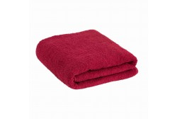 Sauna towel burgundy red 90*170 cm