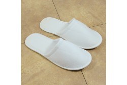 Terry slipper closed toe (3mm sole)