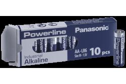 Batteries 10 pcs, Panasonic