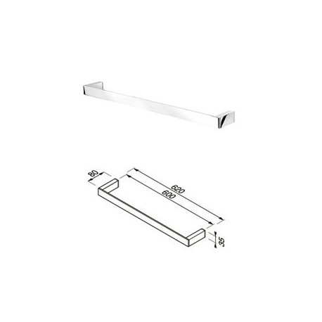 Towel rail 60 cm Geesa