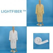 Lightfiber™ lightweight bathrobes