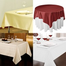 TABLE CLOTH & NAPKINS