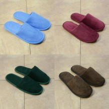 Colour hotel slippers