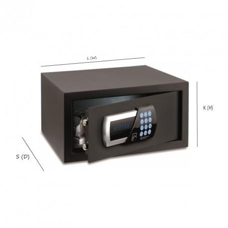 Мини-сейф большой, черный