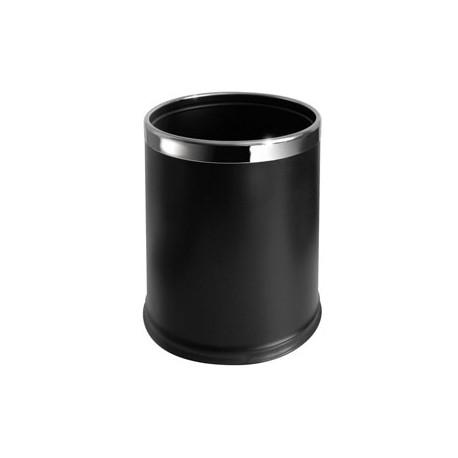 Мусорная корзина 10л, чёрная