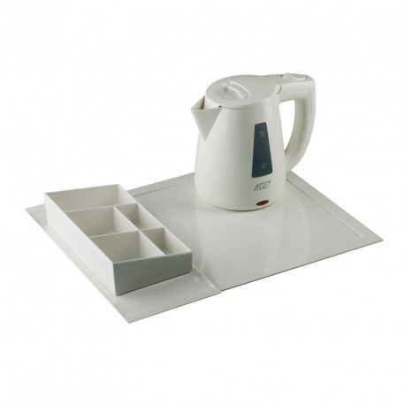 Hospitality tray set (kettle 0.8 l), white