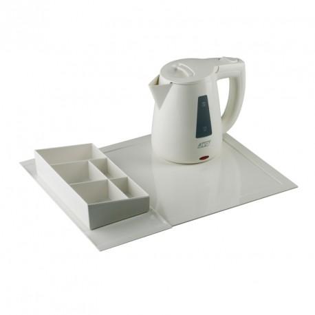 Комплект чайный 800 мл, белый