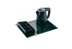 Hospitality tray set (kettle 0.8 l), black