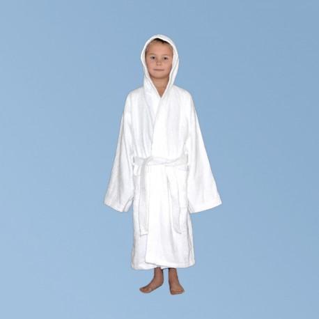 Махровый халат с капюшоном S, для детей