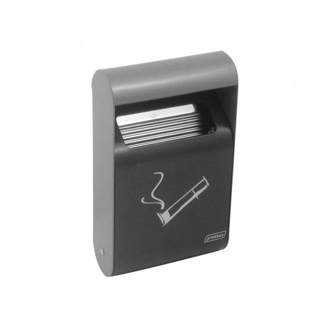 Wall ash tray 1.5 L, dark grey
