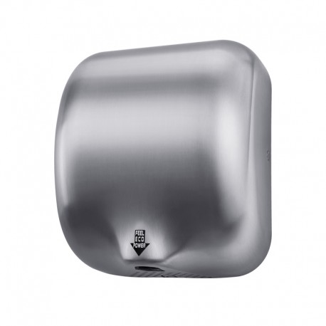 Hand-dryer 1800 W brushed steel