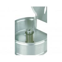 Jumbo металлический дозатор для туалетной бумаги