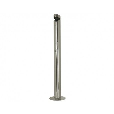 Stainless steel stand alone ashtray 1.1L
