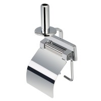 Toilet roll holder with cover,spare roll