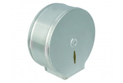Jumbo metal toilet paper dispenser (400 m roll)