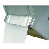 Jumbo metal toilet paper dispenser (400 m roll)