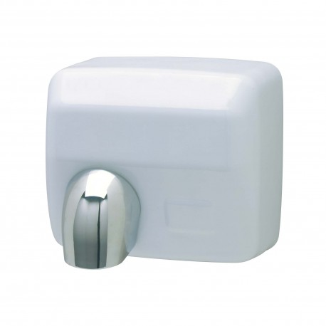 Hand-dryer 2500 W anti vandalism white