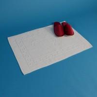 Bath mat 700 g/m2 Greek pattern + feet 50*70 cm