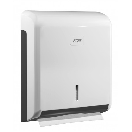 Hand towels dispenser ABS plastic, white