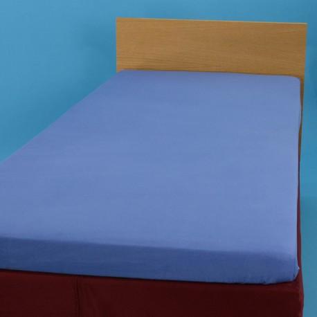 Резиновые простыня 90*200 см, синый