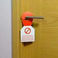 Табличка на дверь - Не беспокоить, картон