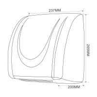 Hand-dryer 2100 W, white