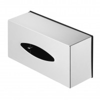 Tissue holder, free standing, brushed stainless steel Geesa