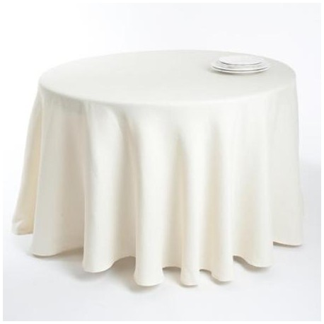 Table cloth (round) diam. 180 cm, 100% cotton