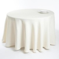 Table cloth (round) diam. 250 cm, 100% cotton