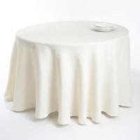 Table cloth (round) diam. 250 cm, 100% cotton