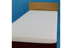 Jersey knit bed sheet 160*200 cm, white