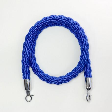Piirdeköis põim. sinine 1,5m (hõbe konks)