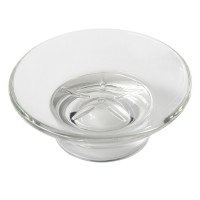 Clear glass tray for soap holder 2103