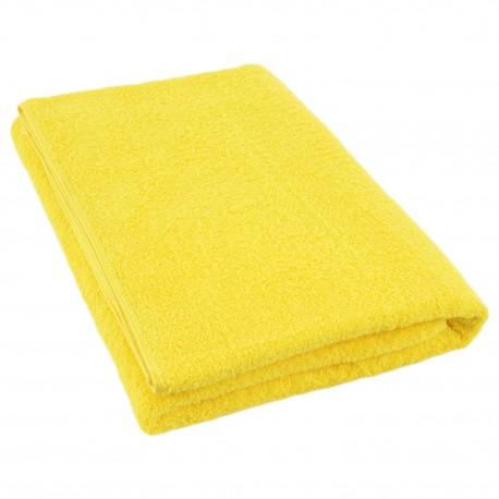 Полотенце жёлтое 75*150 см