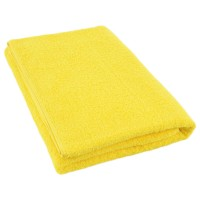 Yellow terry towel 75*150 cm