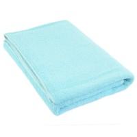 Полотенце бирюзовое синее 75*150 см