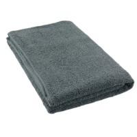 Полотенце серый 75*150 см
