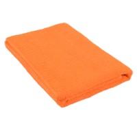 Полотенце оранжевое 75*150 см