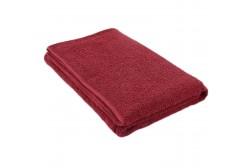 Håndklæde bordeauxrødt 75*150 cm