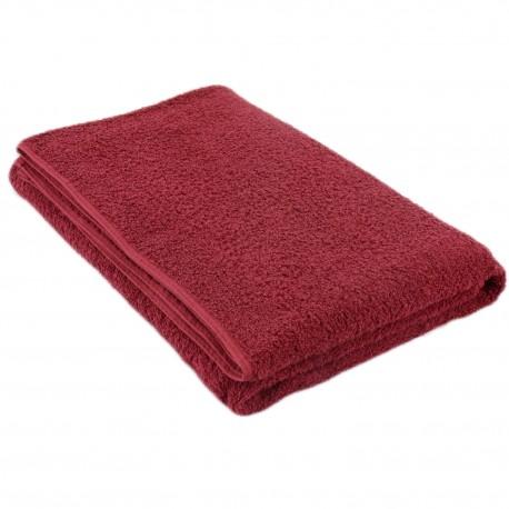 Полотенце бордовое 75*150 см