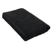 Полотенце чёрное 75*150 см