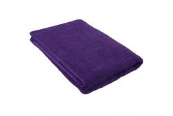 Violet terry towel 75*150 cm