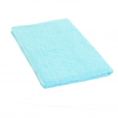 Turquoise terry towel 50*70 cm